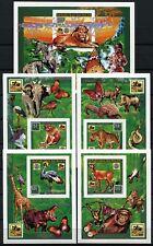 Schmetterlinge 1996 Niger Pfadfinder Tiere Block 85 + Blocksatz Ungezähnt /170