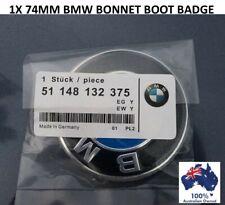 1X BMW REPLACEMENT 74MM BOOT TRUNK BONNET BADGE EMBLEM E38 E39 E46 E60 E90 X5