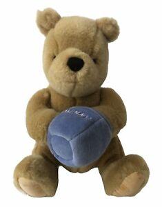 "GUND Disney Classic Winnie the Pooh 8"" Plush Bear Hand In Hunny Pot"