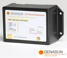 GENASUN GVB-8-PB-48V-WP MPPT CHARGE CONTROL VOLTAGE BOOST 48 VDC 8A WATERPROOF