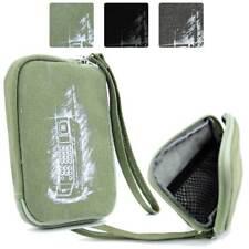 Digital Camera Protective Zipper Canvas Pouch Case FSLMRV-33