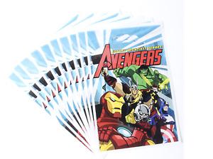 Avengers Hulk Iron Man Thor Mighty Hero Kids Happy Birthday Party Bags Loot Bag