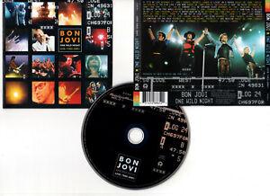 "BON JOVI ""One Wild Night - Live 1985-2001"" (CD) 2001"