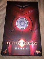 1/6 Hot Toys Iron Man Mark III Collector Edition Action Figure MMS75