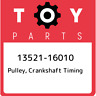 Toyota Celica Corolla 1.6L 4A GE Crankshaft Timing Pulley Sprocket Genuine