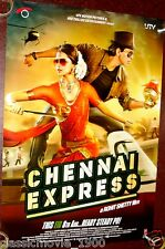 """CHENNAI EXPRESS  DOUBLE SIDED DS POSTER # 1  BOLLYWOOD SHAHRUKH KHAN 27 """"X 39"""""""