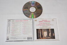 ITALIAN OPERA CHORUSES - VARIOUS CHORUSES - MUSIC CD RELEASE YEAR: 1997