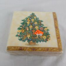 Napkins 36 Count 3 Ply Special Occasion Brand Christmas Treasure Tree Holiday