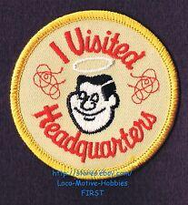 LMH PATCH Badge  GOOD SAM CLUB Logo  I VISITED HEADQUARTERS Travel RV Souvenir