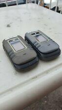 Lot of 2: Motorola Nextel iDen i680 *Rugged* Direct Talk* Ptt Parts & Repair