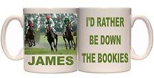 PERSONALISED HORSE RACING BOOKIES RACES MUG OR YOUR PHOTO GIFT TEA COFFEE