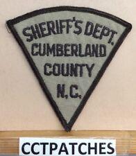CUMBERLAND COUNTY, NORTH CAROLINA SHERIFF (POLICE) SHOULDER PATCH NC