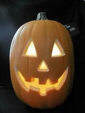 Halloween HUGE Jack O Lantern Pumpkin Electric Light