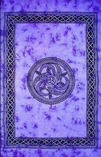 "Tapestry ""Celtic Chakra"" Purple 69 x 108 - FREE SHIPPING"