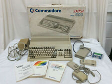 Commodore Amiga 500 Computer Boxed with User Manual Untested
