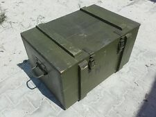 "Sanitätskiste ""AMW"" Aufbewahrungskiste Militärkiste Munitionskiste Holzkiste"