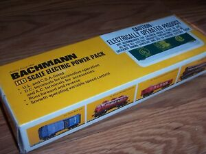 Vintage Bachman HO Scale Model Electric Power Pack ITEM NO 6610