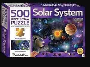 500 Piece Puzzlebilities Jigsaw Puzzle - Solar System