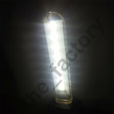 Mini Portable Bright 8 LED Night Light USB Lamp for PC Laptop Reading Camping