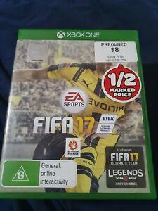 FIFA 17 (Xbox One) xbox 1 xb1 soccer football good condition free post pal