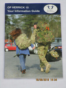 British Army OP HERRICK 15,Your Information Guide,96 Seiten,May 2011