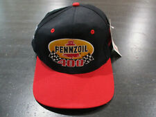 NEW VINTAGE Nascar Pennzoil 400 Snap Back Hat Cap Black Red Racing Racer 90s