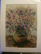 """limited edition print """"Clover and Golden Grasses""""  signed by L janetta"""
