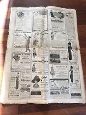 June 1911. New York Times Newspaper