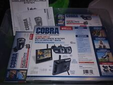 Cobra wireless Home Security surveillance system with 4 Cameras and 7inch screen
