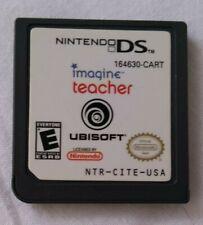 Video Game NINTENDO DS Imagine Teacher Ubisoft 164630