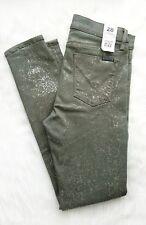 HUDSON Designer NWT Nico Mid-Rise Skinny Ankle Raw Hem Womens Jeans 28 RRP $280