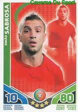 SIMAO SABROSA # PORTUGAL CARD CARTE MATCH ATTAX STARS MONDIALE 2010 TOPPS