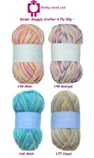 Sirdar Snuggly Crofter 4 Ply 50g - Discontinued Clearance Offer/Free Patterns