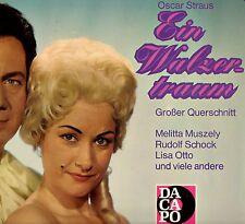 """OSCAR STRAUS """"EIN WALZERTRAUM"""" LP 1975 dacapo"""