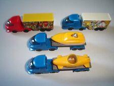 Transport Trucks Model Cars Set 1:160 N - Kinder Surprise Plastic Miniatures