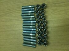 Fiat 4 Stud Conversion Wheel Stud Kit 80mm studs inc Nuts