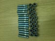 Renault Clio Conversion Wheel Stud Kit inc Nuts 80mm overall length studs