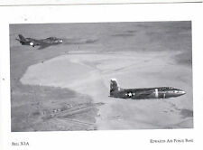 """""""The Bell X-1-A ...Over Rogers Dry Lake-*Edwards Air Force {Postcard} (#111)"""