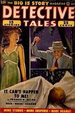 DETECTIVE TALES. October, 1950. Vol. 46, No. 3.