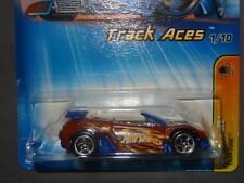 HW HOT WHEELS 2005 TRACK ACES #1 TRAK TUNE MITSUBISHI ECLIPSE HOTWHEELS RED VHTF