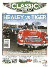 APRIL 2004 CLASSIC AND SPORTS CAR BMW NEUE KLASSE JALPA VS 328 HEALEY VS TIGER