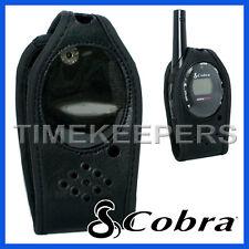 Original Estuche De Cuero Para Cobra Mt600 Mt800 2 Way Radio