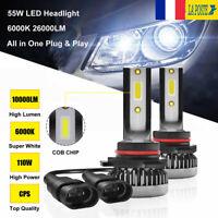 110W 20000LM voiture CREE LED phare ampoule 9006 HB4 lampe kit xénon blanc 6000K