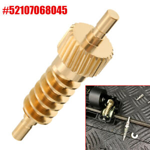 Auto Seat Thigh Support Actuator Repair Metal Gear Kit For BMW X5 X6 52107068045