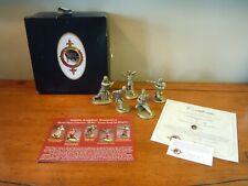 Canton Hung Gar Five Animals Metal Miniature Collection