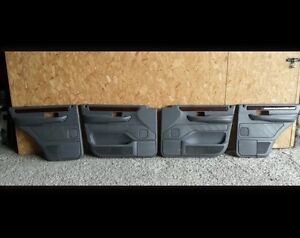 RANGE ROVER P38 Door Cards 94 To 02 Leather Handle Gray 4.0 4.6 2.5