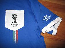 ITALIA FIFA WORLD CUP Brazil No. 10 Soccer (XL) V-Neck Jersey w/ Tags