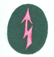 WWII German Signals Panzer Trade Badge