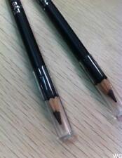 2Pcs Delineador de Ojos Suave Belleza Maquillaje Cosmético Impermeable Lápiz Delineador De Ojos Negro