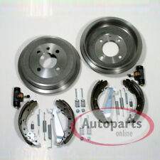 Ford Fiesta 6 VI - Tambor Del Freno Zapatas de Kit Accesorio Cilindro Rueda Para